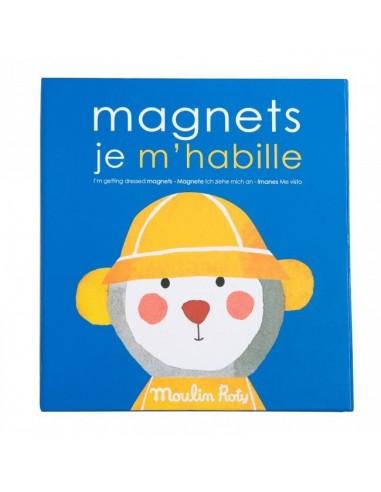 Jeu magnétique je m'habille Les...