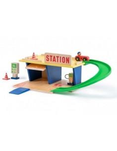Station essence Dans la...