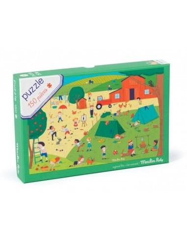Puzzle A la campagne 150 pièces...