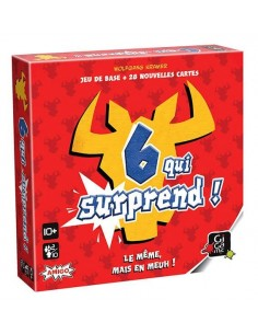Six qui surprend - jeu gigamic