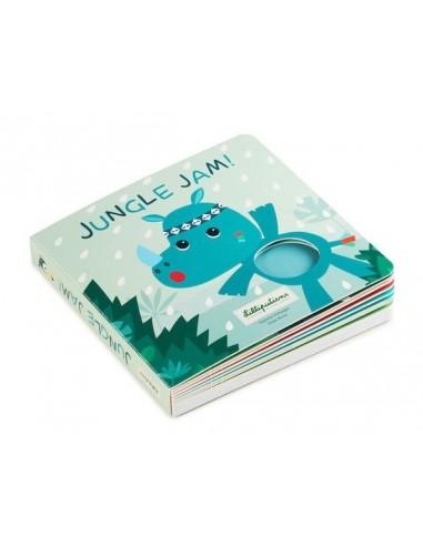 Jungle Jam livre tactile et sonore -...