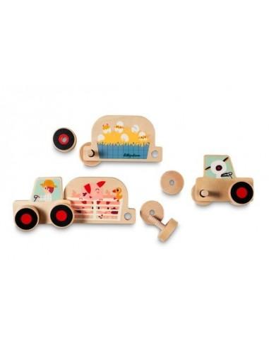 Tracteur set d'assemblage - Lilliputiens