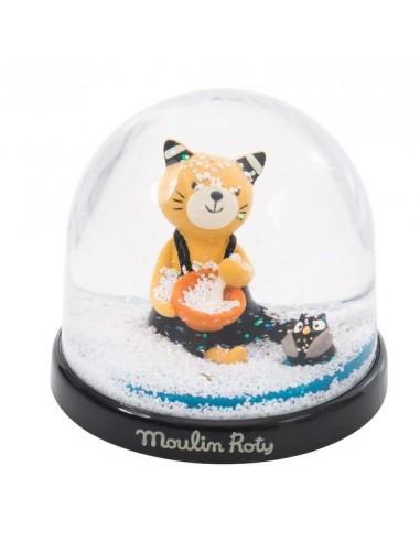 Boule à neige Les Moustaches - Moulin...