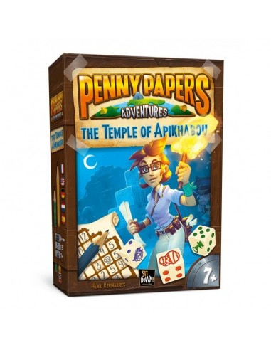 Penny papers adventures : the temple...