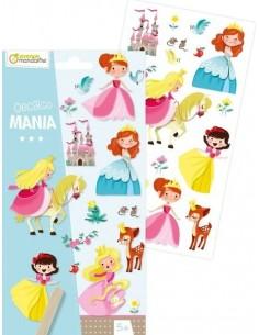 Décalco mania princesses -...