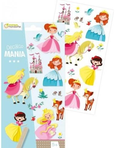 Décalco mania princesses - Avenue...