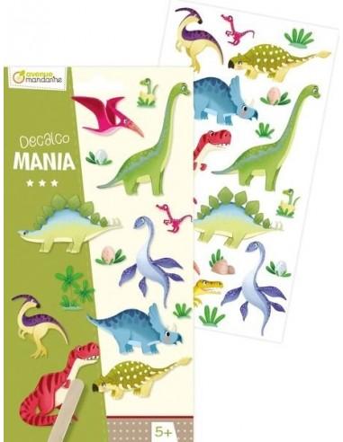 Décalco mania dinosaures - Avenue...