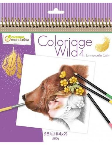 Carnet de coloriage Wild 4 - Avenue...