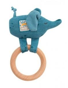 Anneau hochet bois éléphant...