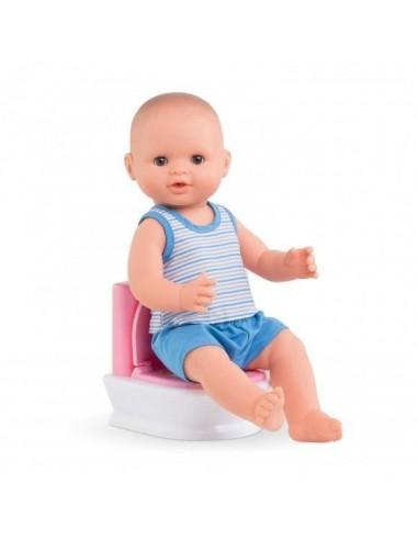 Toilettes interactives pour poupée -...