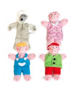 Marionnettes de doigt Les...