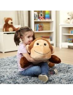 Peluche géante singe -...