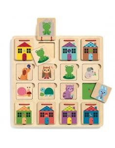 Puzzle cabanimo - Djeco