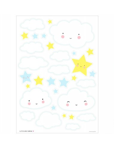 Stickers muraux nuage - A Little...