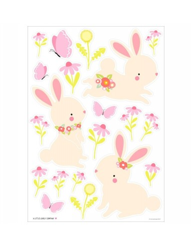 Stickers muraux lapin - A Little...