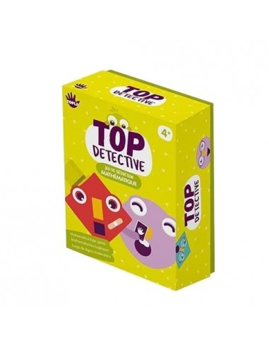 Jeu de cartes Top'Detective - Topla