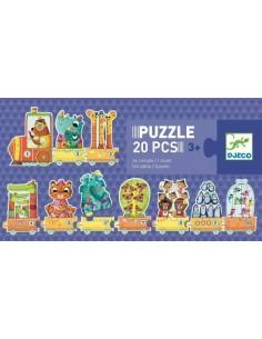 Puzzle je compte - Djeco