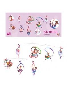 Mobile en papier danseuses...