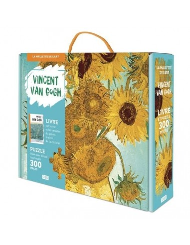 Coffret Vincent Van Gogh livre et...