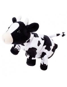 Peluche gant marionnette vache