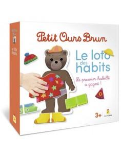 Jeu Petit Ours Brun le loto...