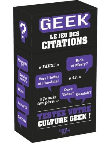 Geek le jeu des citations