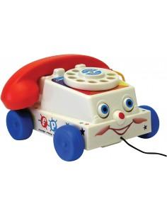 Téléphone à tirer vintage -...