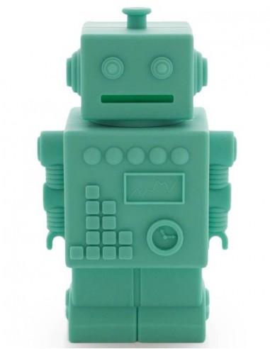Tirelire robot aqua - KG Design