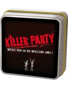 Killer party - jeu Asmodée