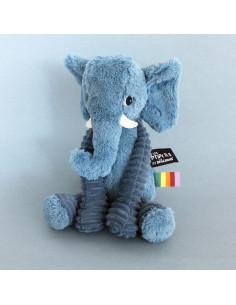 Dimoutou l'éléphant bleu -...