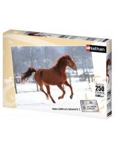 Puzzle 250 pièces cheval...