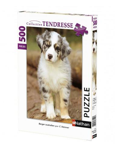 Puzzle 500 pièces Berger australien -...