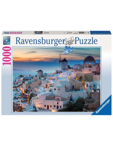 Puzzle 1000 pièces Santorin -...