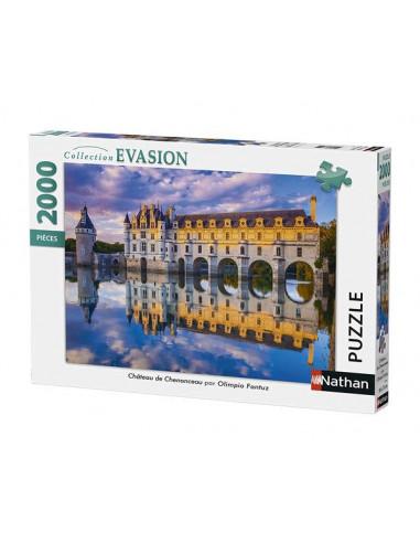 Puzzle 2000 pièces château de...