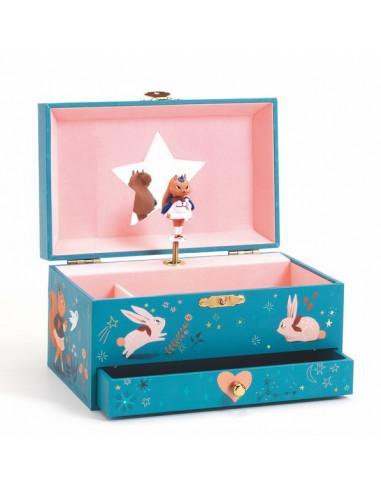 Boîte à bijoux mélodie magique - Djeco