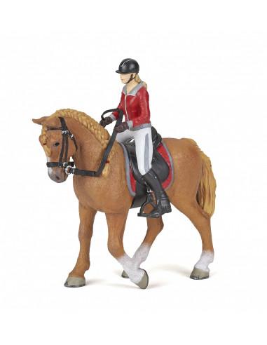 Figurines cheval de promenade et sa...