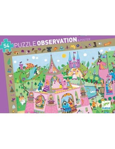 Puzzle d'observation Princesses - Djeco
