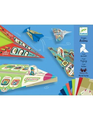Origami avions - Djeco