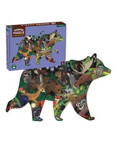 Puzzle forme forêt 300 pièces