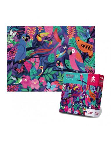 Puzzle birds of paradise 500 pièces