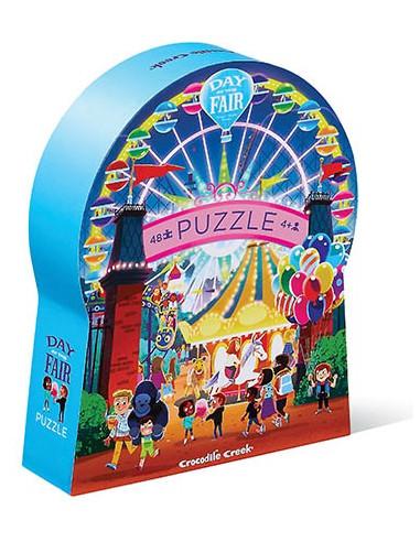 Puzzle une journée à la foire 48 pièces
