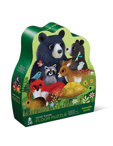 Puzzle amis de la forêt 36 pièces