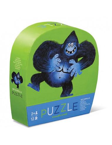 Mini puzzle gorille 12 pièces