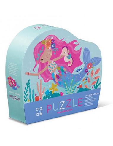 Mini puzzle sirène 12 pièces