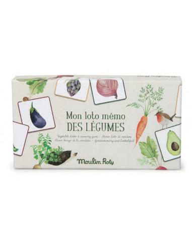 Loto mémo des légumes Le Jardin du...