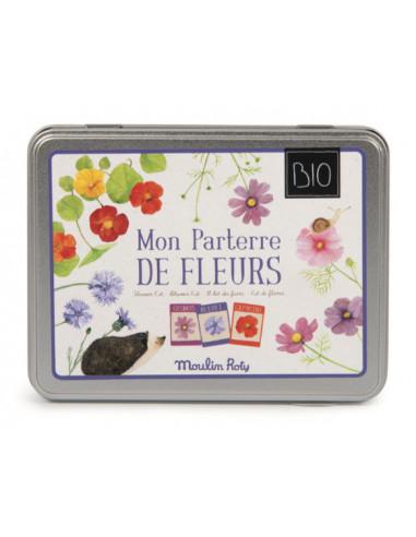 Kit de fleurs Le Jardin du Moulin -...