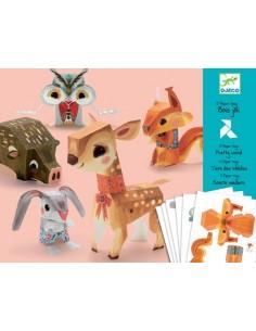 Paper toys Bois joli
