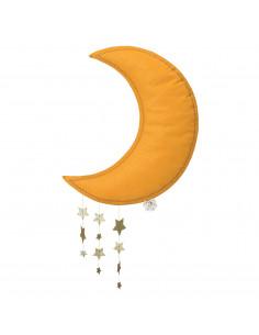 Mobile lune jaune avec...