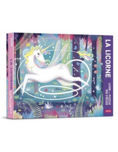 La licorne livre et puzzle de 100...
