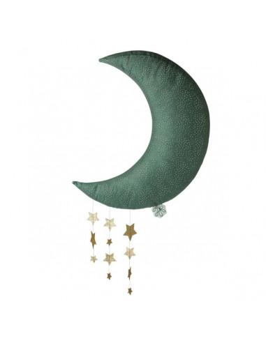 Mobile lune avec étoiles - Picca Loulou